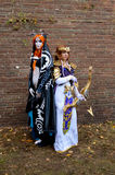 Fantasy cosplayers at Lucca Comics and Games 2014 Royalty Free Stock Image