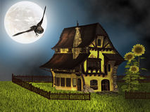 Fantasy cottage Royalty Free Stock Photography