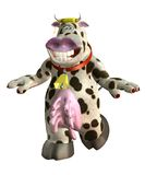 Fantasy cow 2 Royalty Free Stock Photography