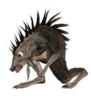 Fantasy creature 3 Royalty Free Stock Image
