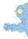 Fantasy creature. Creative design of fantasy creature Stock Images