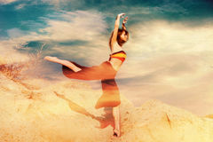 Fantasy dance Royalty Free Stock Images
