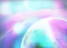 Fantasy deep space nebula Royalty Free Stock Photography