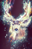 Fantasy Deer Concept Royalty Free Stock Images