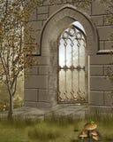 Fantasy Door Stock Photography