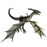 Fantasy dragon 1 Royalty Free Stock Images