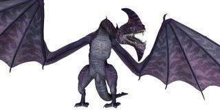 Fantasy dragon Stock Image