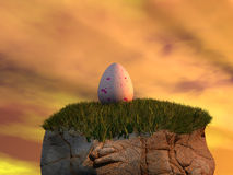 Fantasy egg Royalty Free Stock Photography