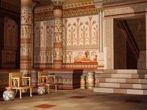 Fantasy Egyptian temple Royalty Free Stock Image
