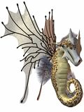Fantasy Faerie Dragon Royalty Free Stock Photography