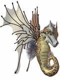 Fantasy Faerie Dragon Royalty Free Stock Photography