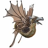 Fantasy Faerie Dragon Stock Photography