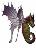 Fantasy Faerie Dragon Royalty Free Stock Image
