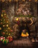 Fantasy fairy room 1 royalty free stock photography