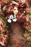 Fantasy fashion woman Stock Image