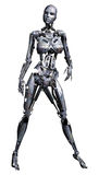 Fantasy female robot Stock Photography