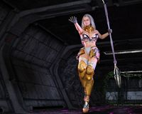 Fantasy Female Warrior Royalty Free Stock Photography