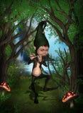 Fantasy Figure stock illustration