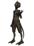 Fantasy Figure. 3d render of a Fantasy Figure Royalty Free Stock Photography