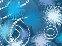 Fantasy fireworks Stock Image