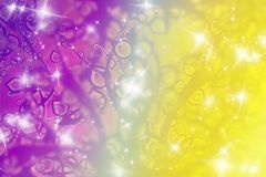 Fantasy Floral Background Royalty Free Stock Photo