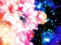 Fantasy Floral Fairy Stock Photo