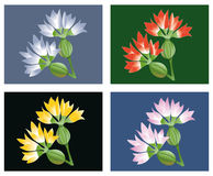 Fantasy flower Stock Image