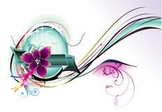 Fantasy flower illustration Stock Photo