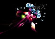 Fantasy flower illustration Stock Photography