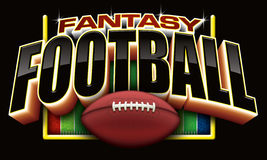 Fantasy Football. To promote leagues or contests involving fantasy football or sports betting Royalty Free Stock Photography