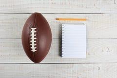 Fantasy Football Draft Gear Stock Image