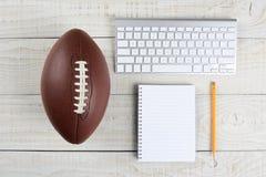 Fantasy Football Draft royalty free stock image