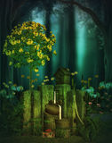 Fantasy forest Royalty Free Stock Photos