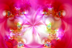 Fantasy fractal background Royalty Free Stock Photo