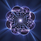 Fantasy fractal flower,floral pattern Stock Photography