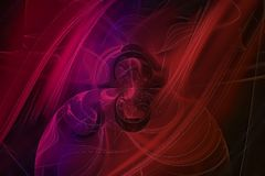 Current overlay fantasy, motion universe fractal, space, background, energy, abstract, design, illustration. Fantasy fractal, space, background energy, abstract royalty free illustration