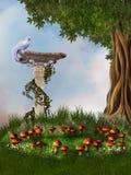 Fantasy garden Royalty Free Stock Image