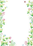 Fantasy garden background 3 Royalty Free Stock Photography