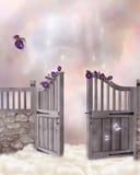 Fantasy gate Stock Photos