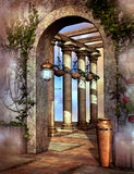 Fantasy Gate Royalty Free Stock Images