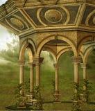 Fantasy gazebo Stock Image