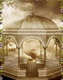 Fantasy gazebo with vines Stock Photography