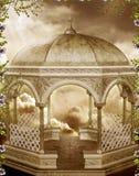 Fantasy gazebo with vines Stock Photography
