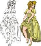 Fantasy Girls . Royalty Free Stock Image