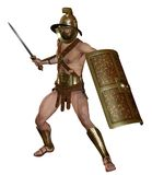 Fantasy gladiator 2 Royalty Free Stock Images