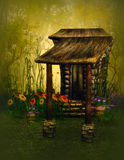 Fantasy gnome house Royalty Free Stock Photography