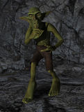 Fantasy Goblin Keep Quiet Silence Royalty Free Stock Photos