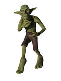 Fantasy Goblin Quiet Silence Illustration Royalty Free Stock Photo