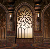 Fantasy gothic gate Royalty Free Stock Photo