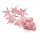 Fantasy grapes. Christmas motif.Grapes fancy decoration with glitter Royalty Free Stock Images